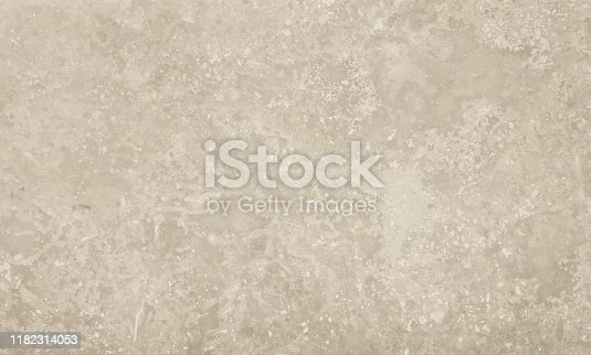 Vector illustration of grunge uneven grey marble stone texture background with cracks and stains