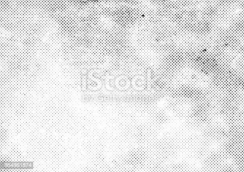 grunge halftone vector background