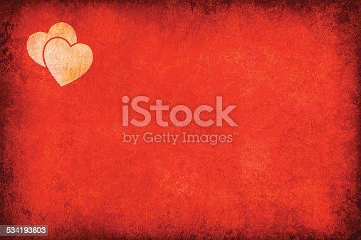istock Grunge Love Theme Background 534193603