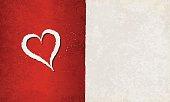 Grunge Love Theme Background