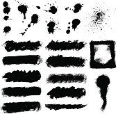 Grunge Material Set