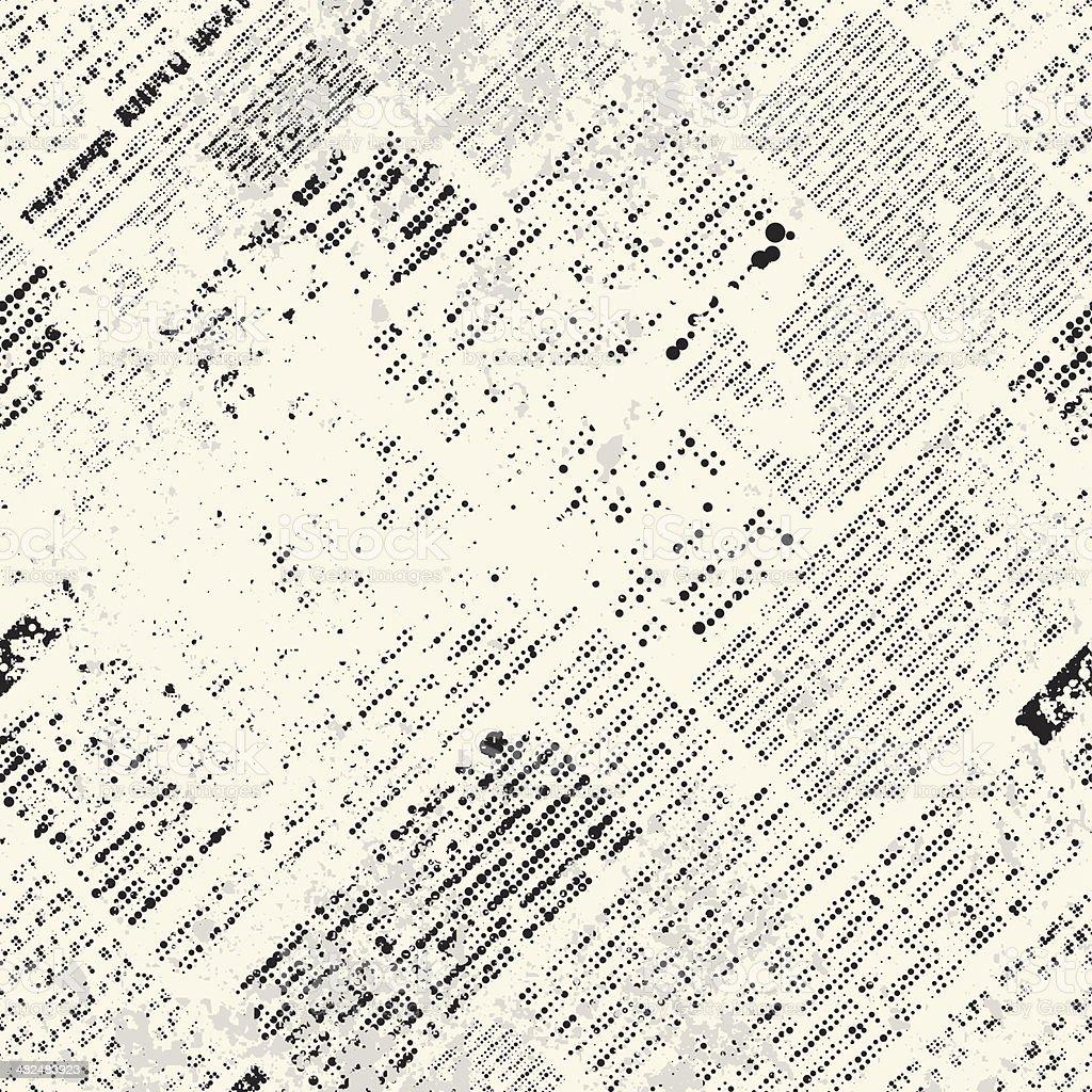 grunge-Zeitung – Vektorgrafik