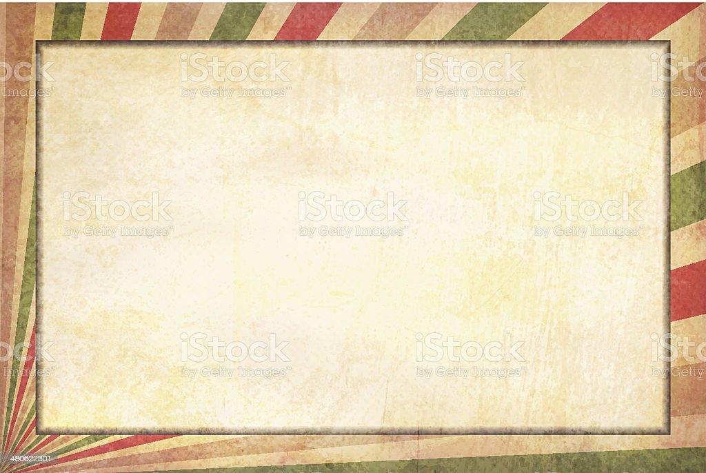 Antiguo De Grunge Fondo Con Marco De Fotos - Arte vectorial de stock ...