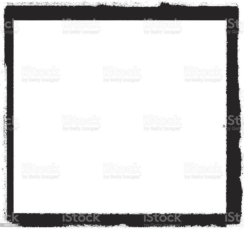 grunge paint frame royalty-free stock vector art