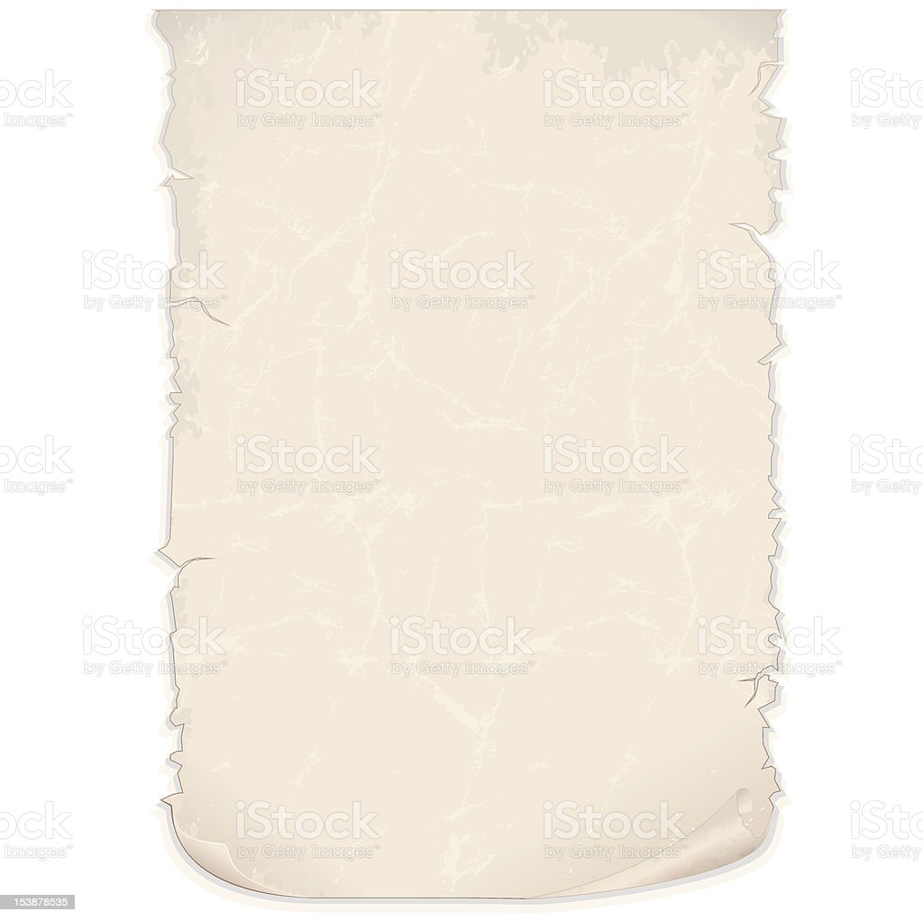 Grunge Paper Document royalty-free stock vector art