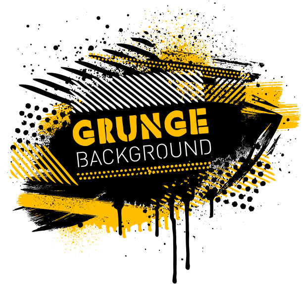 Grunge poster background vector vector art illustration