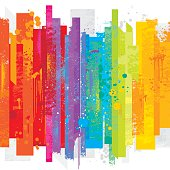 istock Grunge rainbow background 486522988