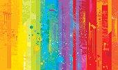 istock Grunge rainbow background 486840926