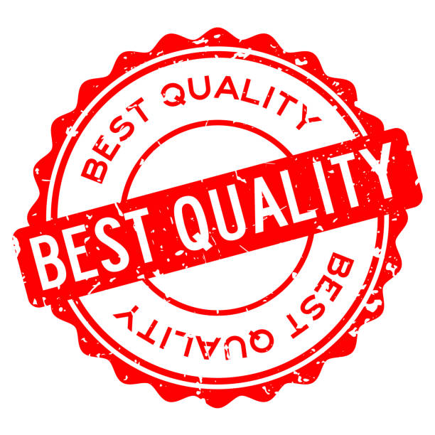垃圾紅色最好的品質字圓形橡膠密封印章在白色背景 - 高質素 幅插畫檔、美工圖案、卡通及圖標