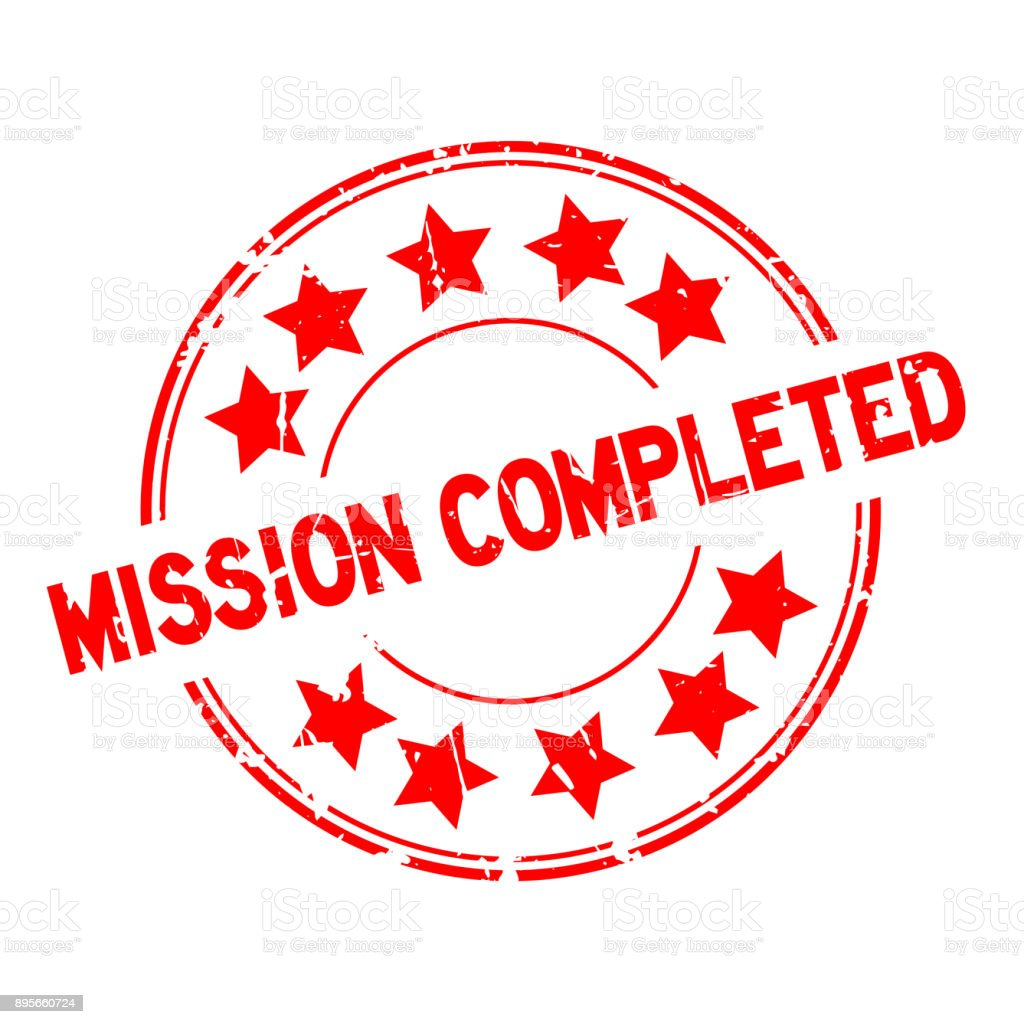 Image result for clip art of mission completed badge