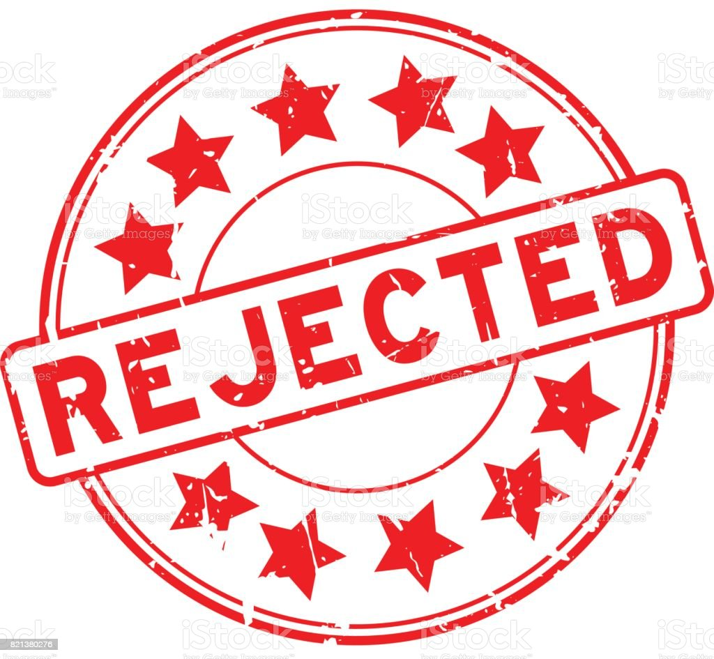Image result for rejection clipart