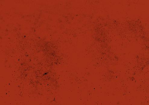 Grunge red vector background