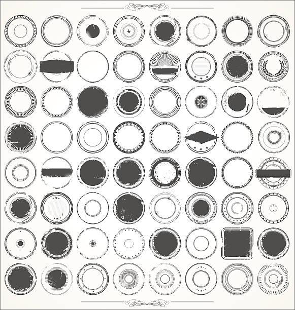 grunge rubber stamps - 橡膠 幅插畫檔、美工圖案、卡通及圖標