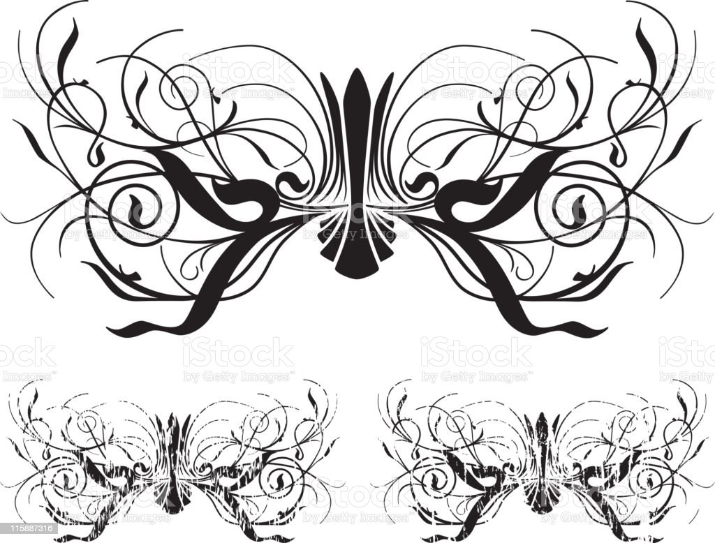 Grunge Scroll Series royalty-free grunge scroll series stock vector art & more images of art product