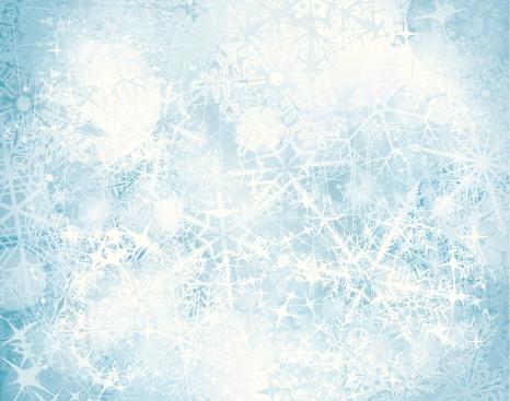 Grunge snowy background