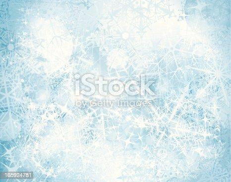 istock Grunge snowy background 165924781