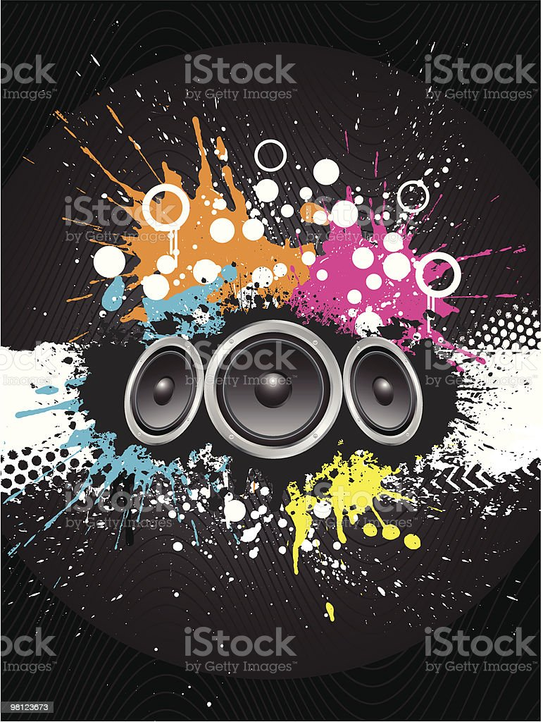 Grunge sound royalty-free grunge sound stock vector art & more images of abstract
