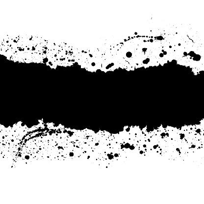 Grunge splash banner.