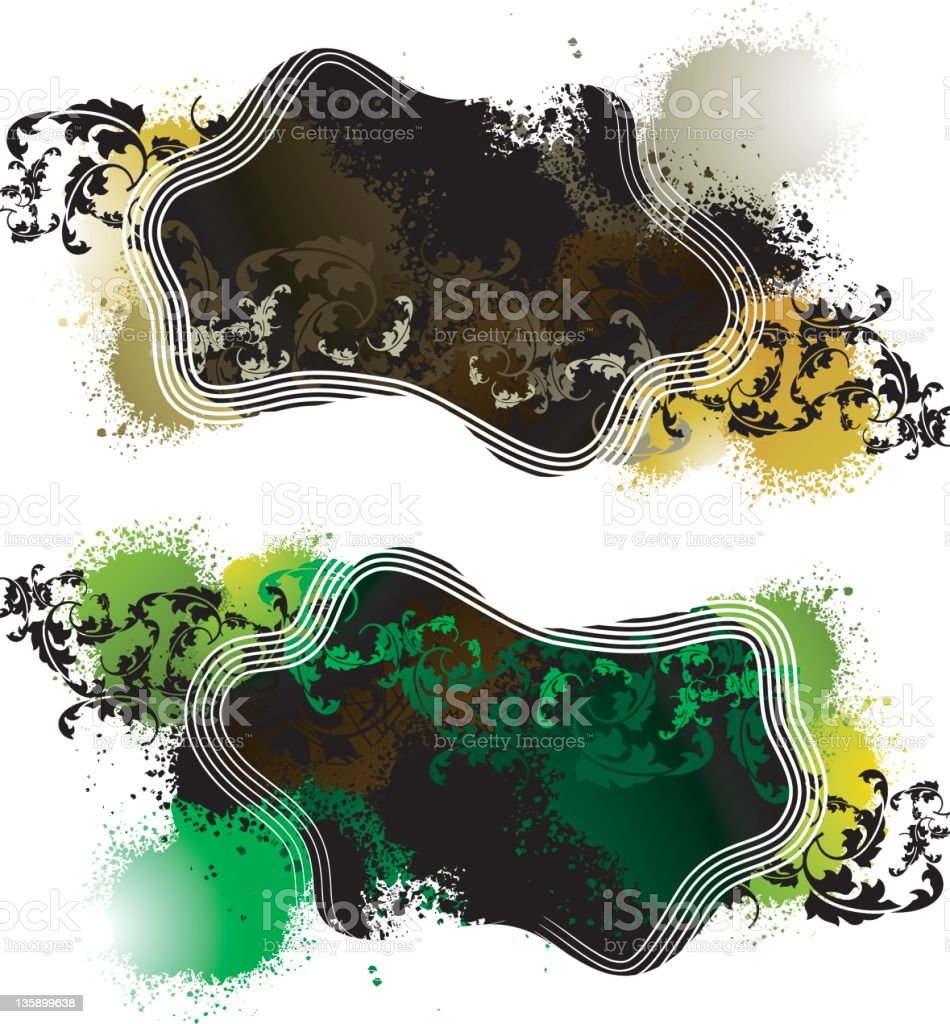 grunge splat royalty-free stock vector art