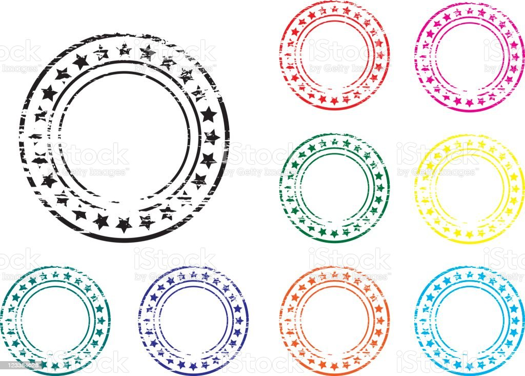Grunge stamps royalty-free grunge stamps stock vector art & more images of circle