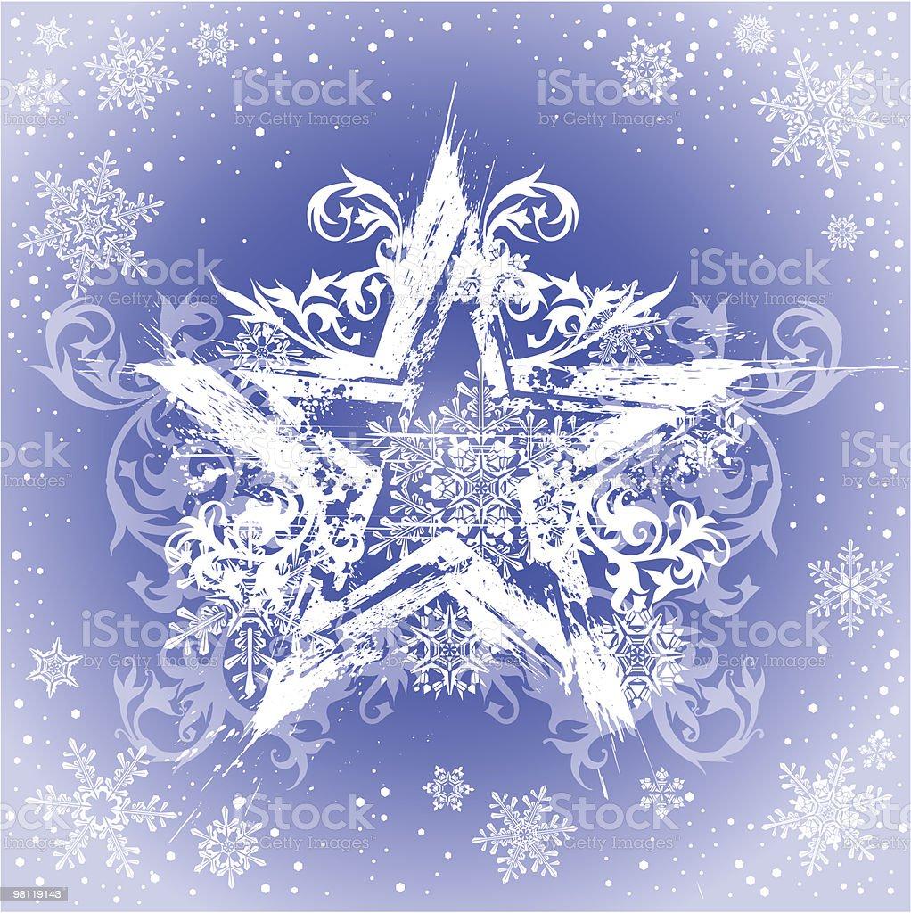 그런지 거수, 꽃 장식 & snowflakes royalty-free 그런지 거수 꽃 장식 snowflakes 0명에 대한 스톡 벡터 아트 및 기타 이미지