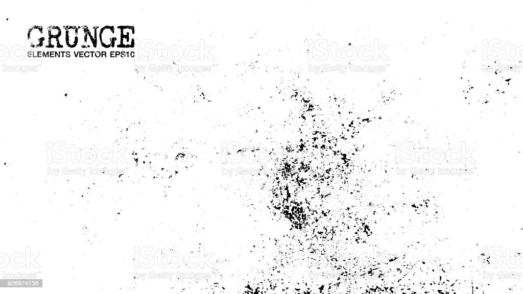 Grunge style of dust particles background and texture . Vector vector art illustration