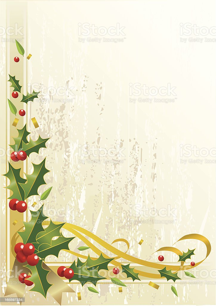 Grunge Textured Christmas Border royalty-free grunge textured christmas border stock vector art & more images of backgrounds