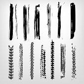 Grunge Tire Element