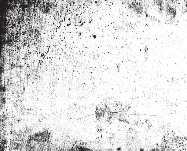 grunge wektor tekstury tła - brudny stock illustrations