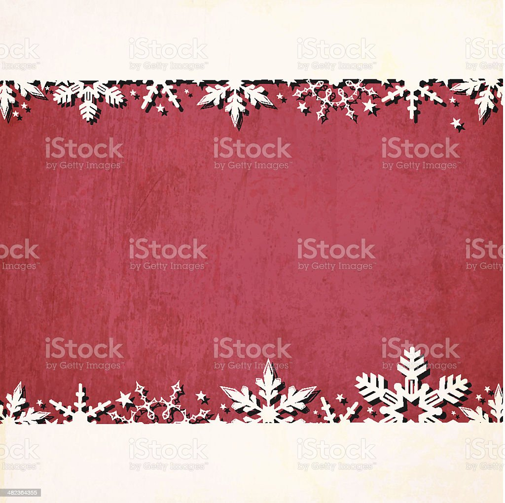 Grunge Vector Christmas Background royalty-free grunge vector christmas background stock vector art & more images of art product