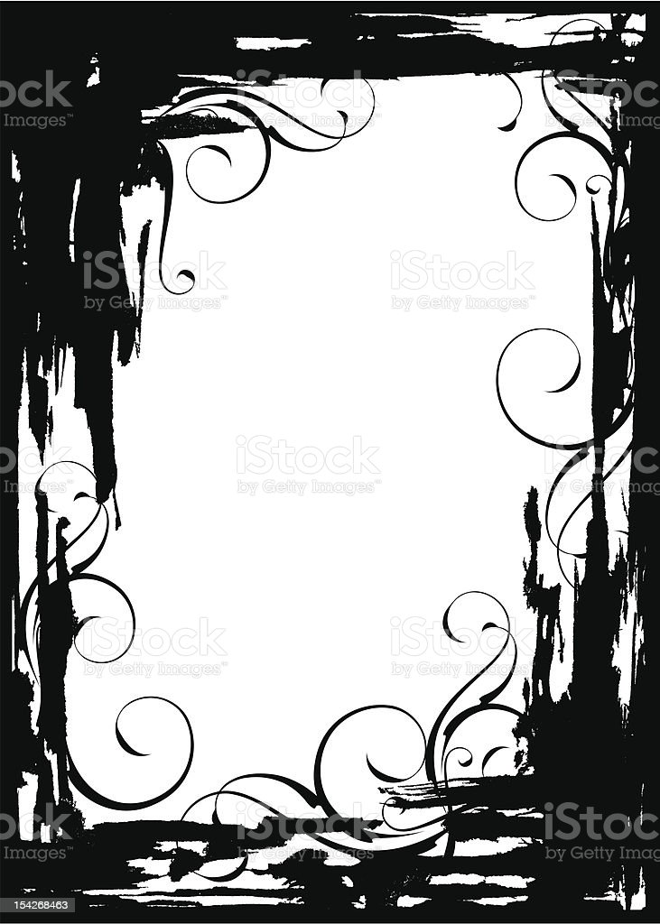 Grunge vector frame royalty-free grunge vector frame stock vector art & more images of abstract