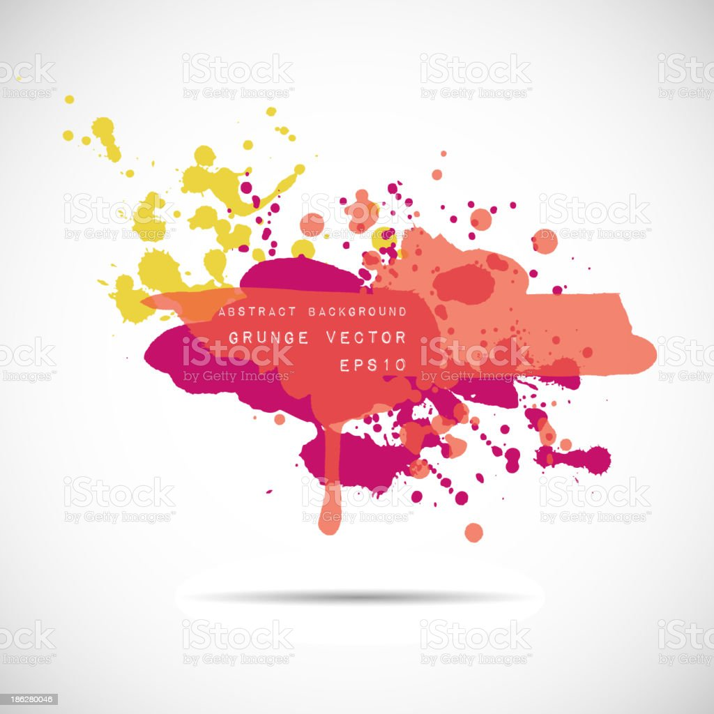 Grunge vector hand drawn background. royalty-free grunge vector hand drawn background stock vector art & more images of abstract