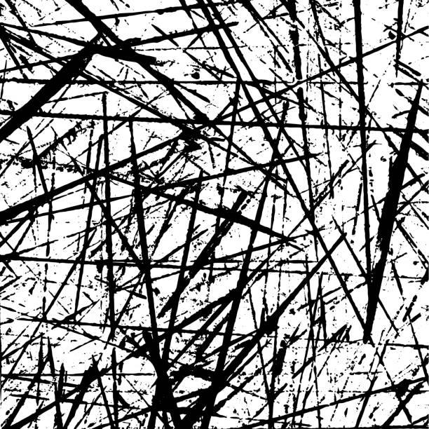 Grunge vector paint texture Grunge vector paint texture background mess stock illustrations