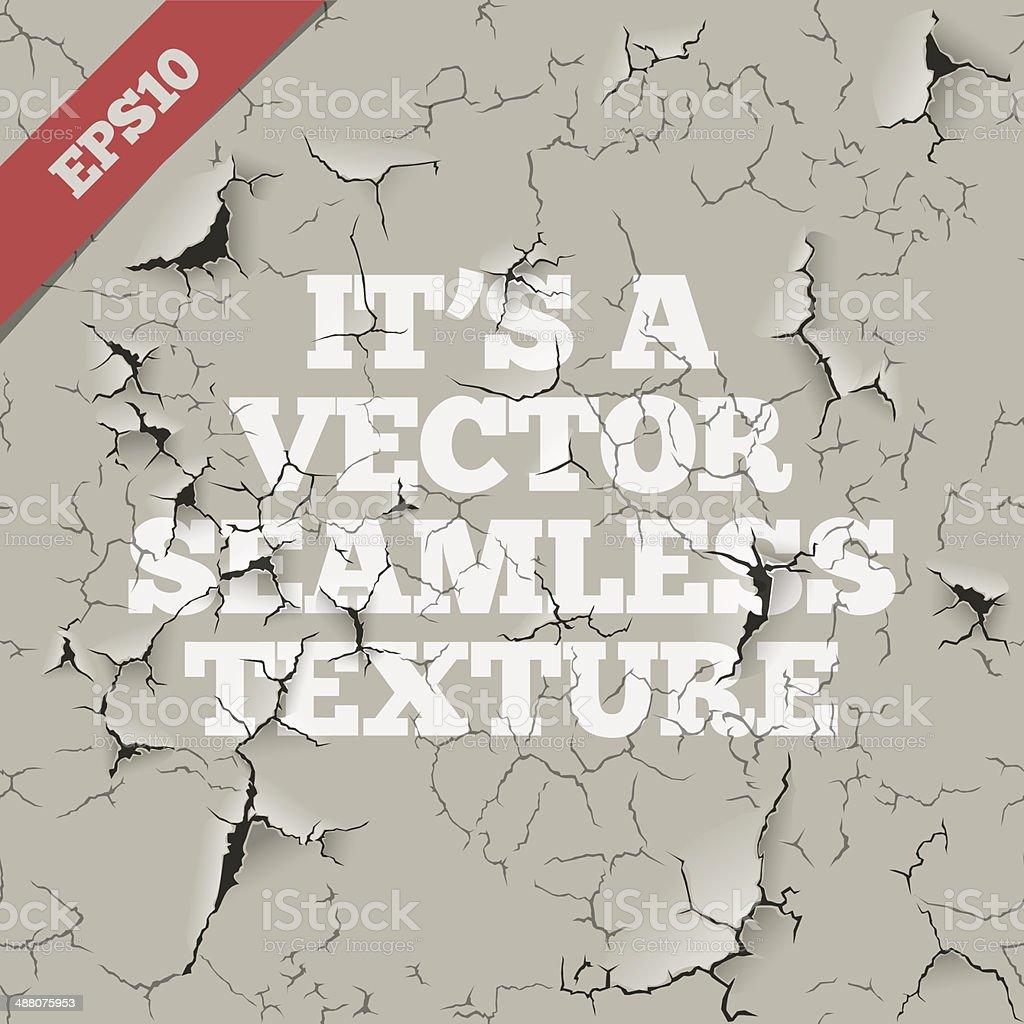 Grunge Vector Seamless Texture vector art illustration