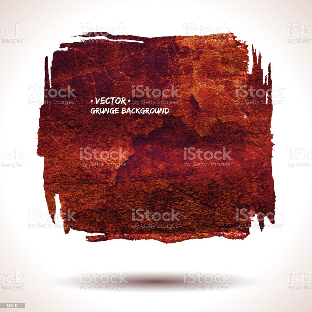 Grunge vector shape royalty-free grunge vector shape stock vector art & more images of abstract