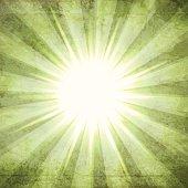 Grunge Vector Sunburst