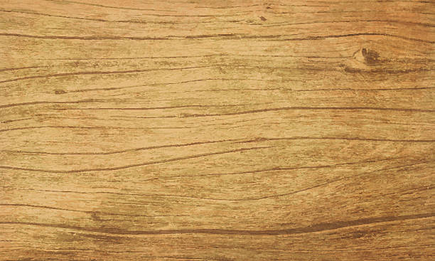 grunge vector wooden background - wood texture stock illustrations