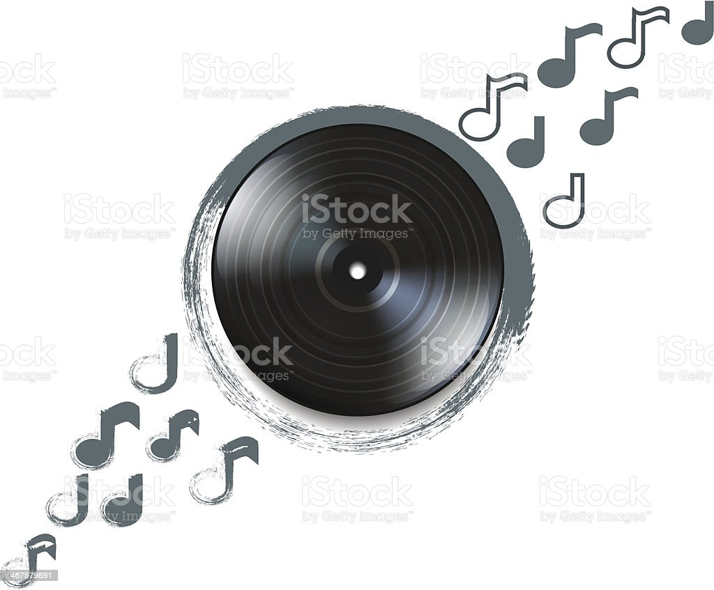 Grunge Camera Vector : Grunge vinyl record stock vector art & more images of abstract