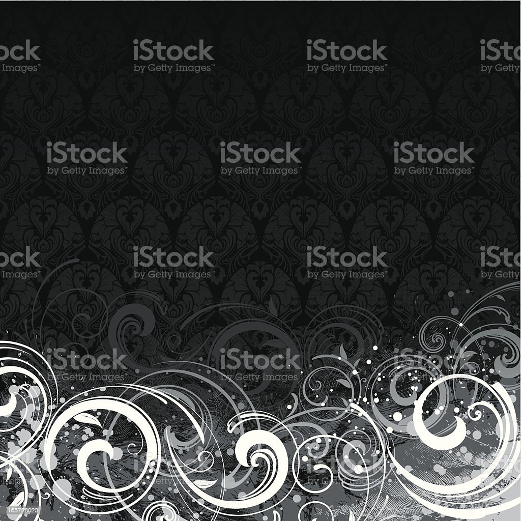 Grunge wallpaper background royalty-free grunge wallpaper background stock vector art & more images of arts culture and entertainment