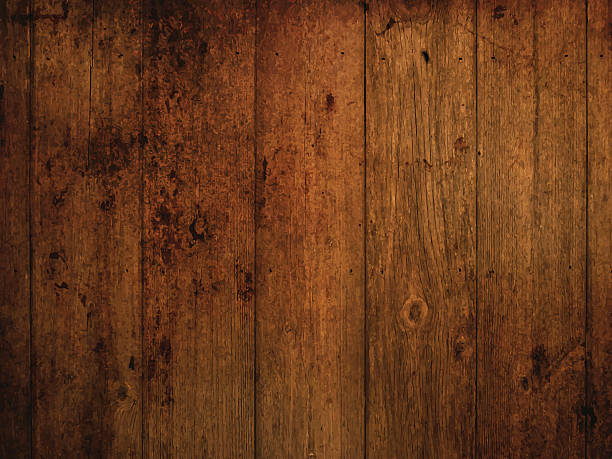 그런지 목재 배경기술 - wood texture stock illustrations