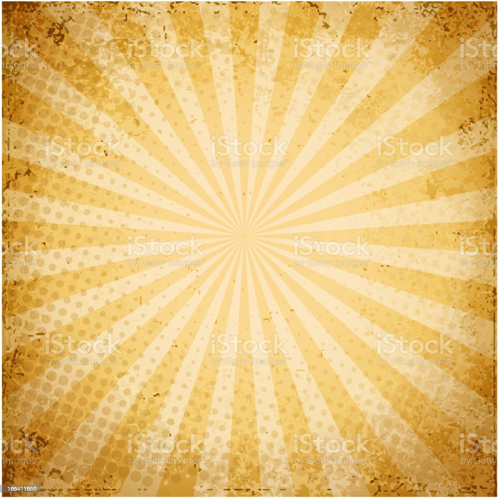 Grunge-style background with yellow and white stripes royalty-free stock vector art