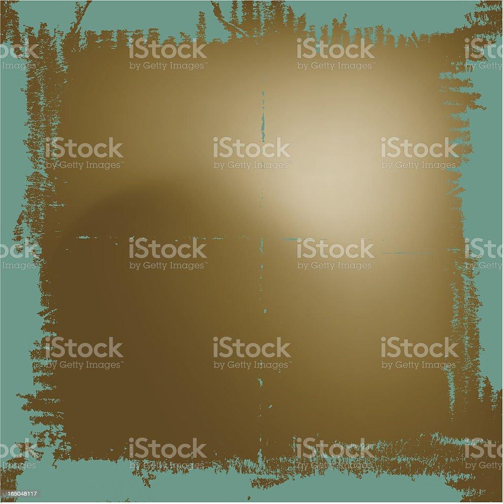Grungy frame SOFT vector art illustration