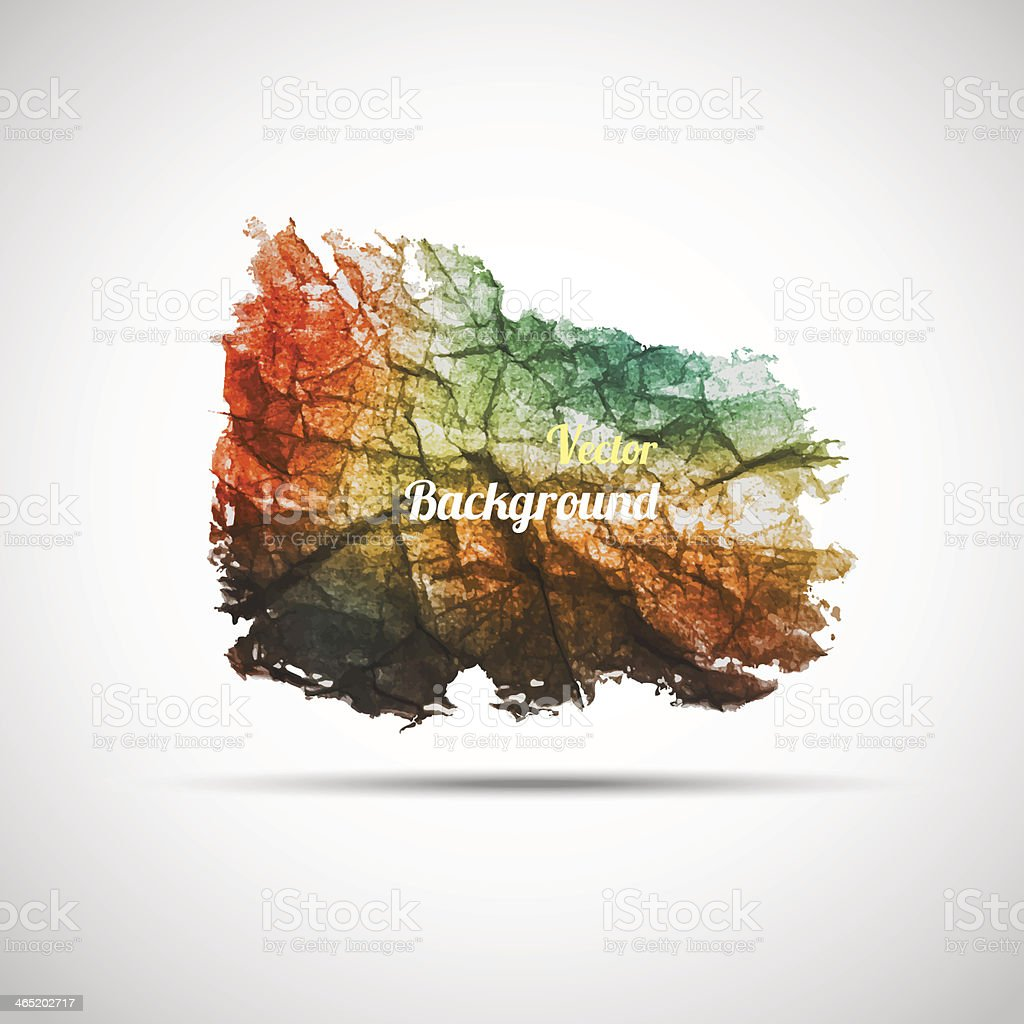 Grungy textured shape. royalty-free grungy textured shape stock vector art & more images of abstract