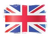 Grungy United Kingdom Flag