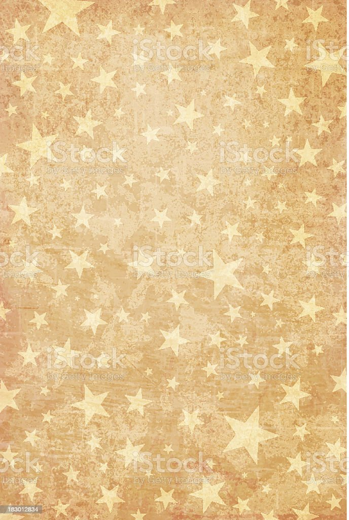 Grungy Vector Starry Background royalty-free stock vector art