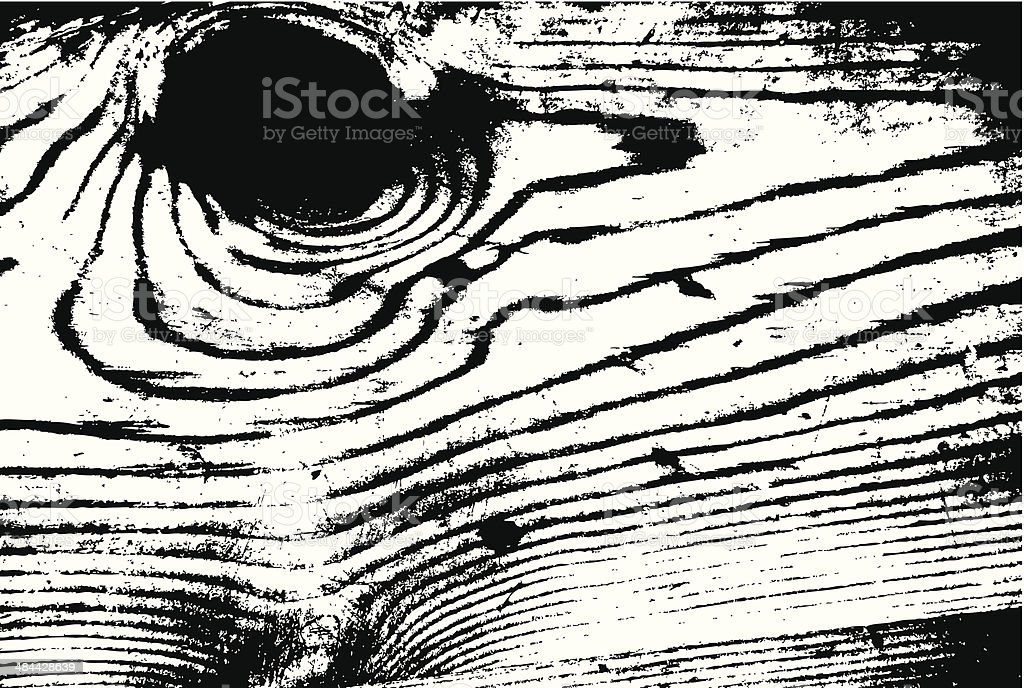 grungy wood texture vector art illustration