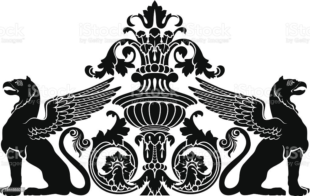 gryphon royalty-free gryphon stock vector art & more images of abstract