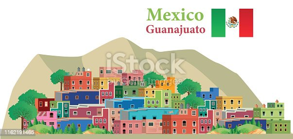 Vector Guanajuato, Mexico