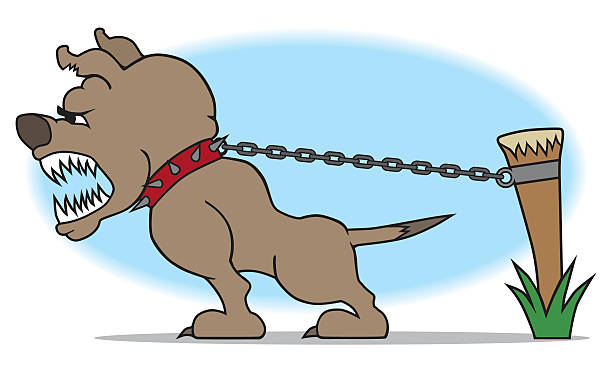 Barking Dog Illustrations, Royalty-Free Vector Graphics ... (612 x 367 Pixel)