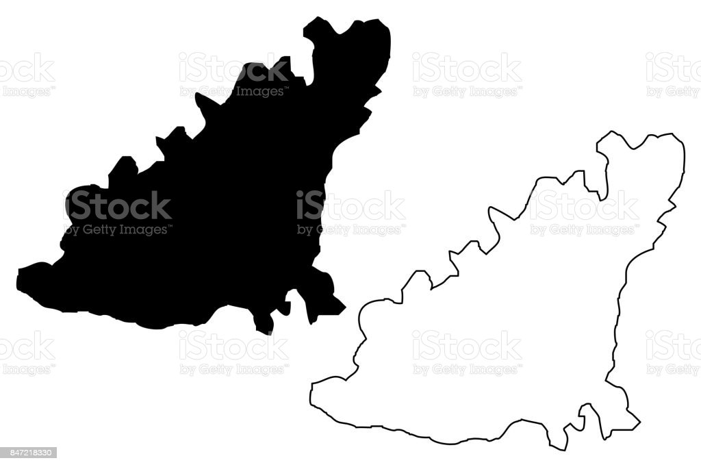 Guernsey Island Map Vector Stock Vector Art More Images of